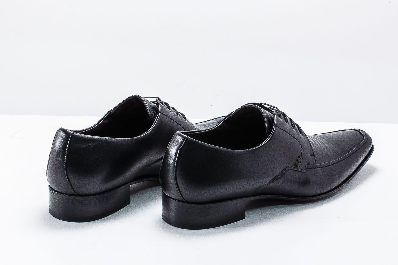 Sapato Scatamacchia Social Cadarço 100% em Couro 014-7745  - Ian Calçados