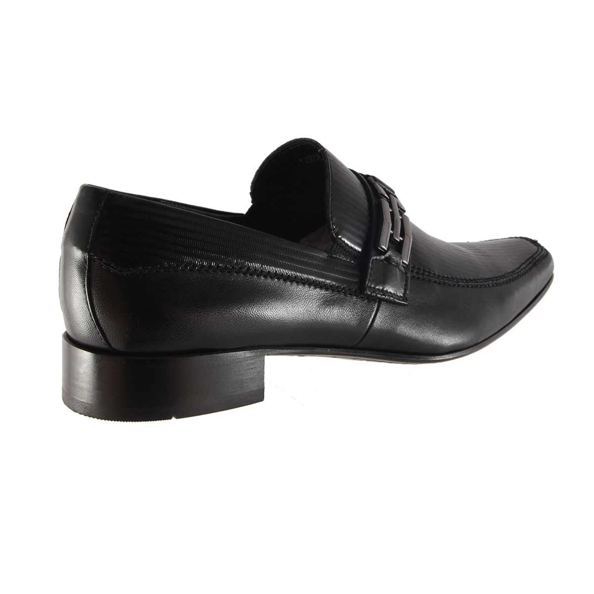 Sapato Scatamacchia Social Fivela 100% em Couro 012-853  - Ian Calçados