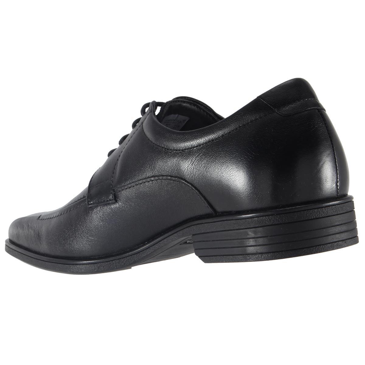 Sapato Social Democrata Alpha Flex Masculino Couro Cadarço 045012  - Ian Calçados