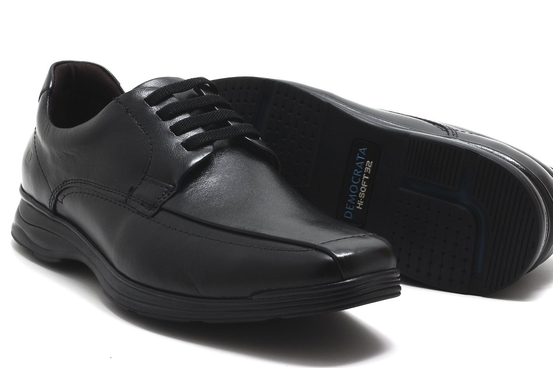 Sapato Social Democrata Chase Hi-soft Cadarço Masculino 239101  - Ian Calçados