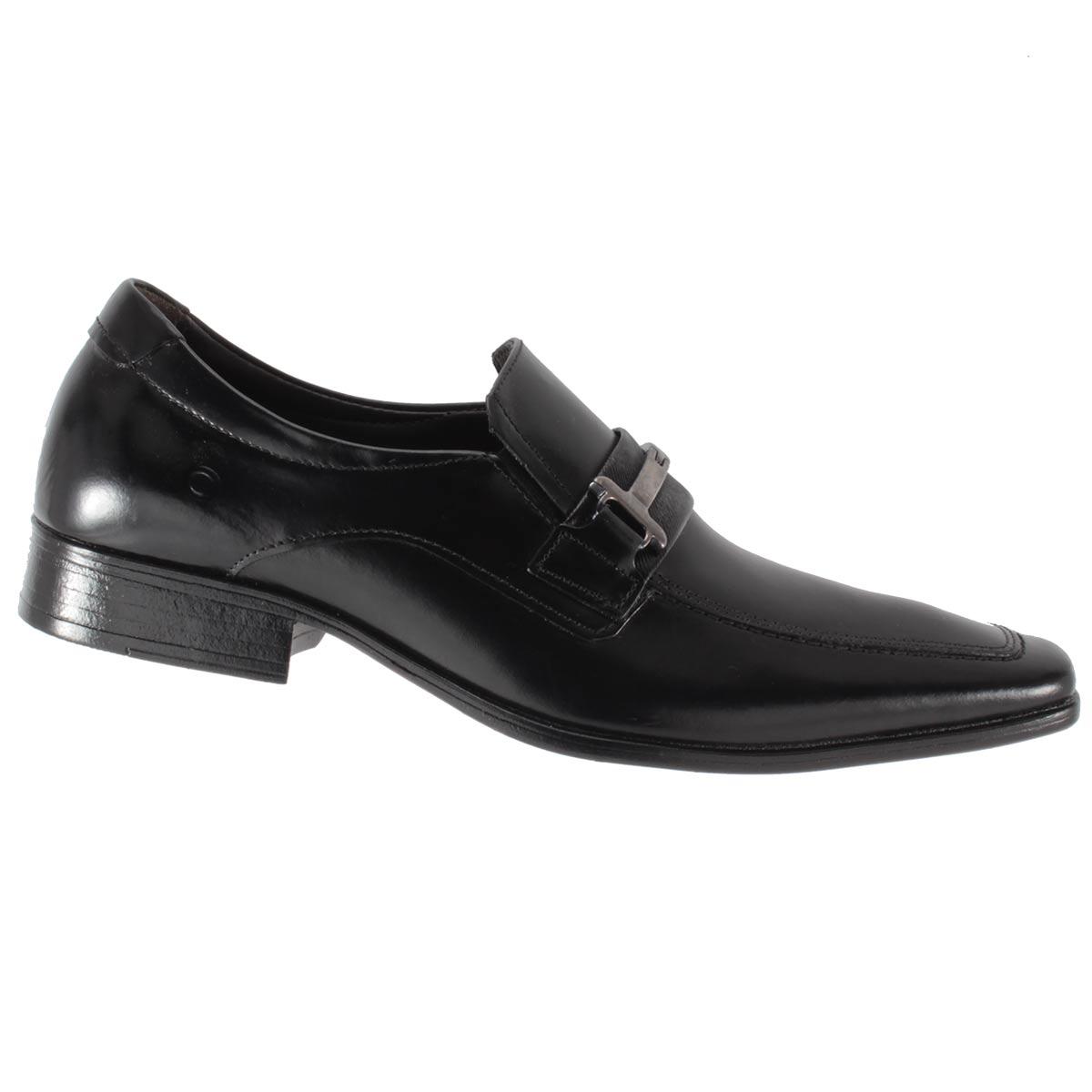 Sapato Social Democrata Denver Couro Fivela Masculino Lindo 450049  - Ian Calçados