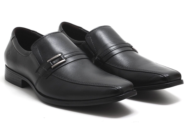 Sapato Social Democrata Prime Couro Masculino 244102  - Ian Calçados