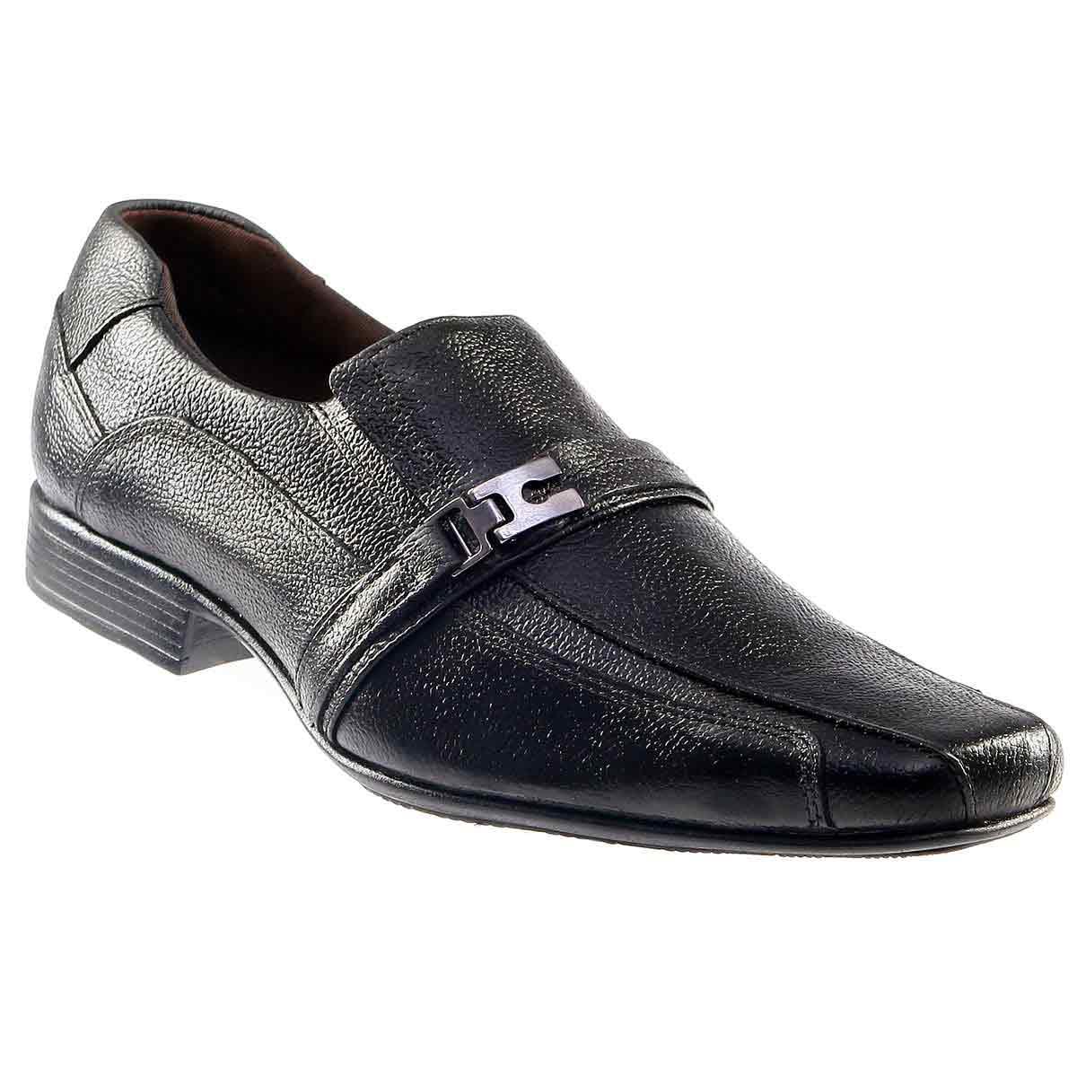 Sapato Social em Couro Legítimo Masculino D`mazons CIV1401  - Ian Calçados