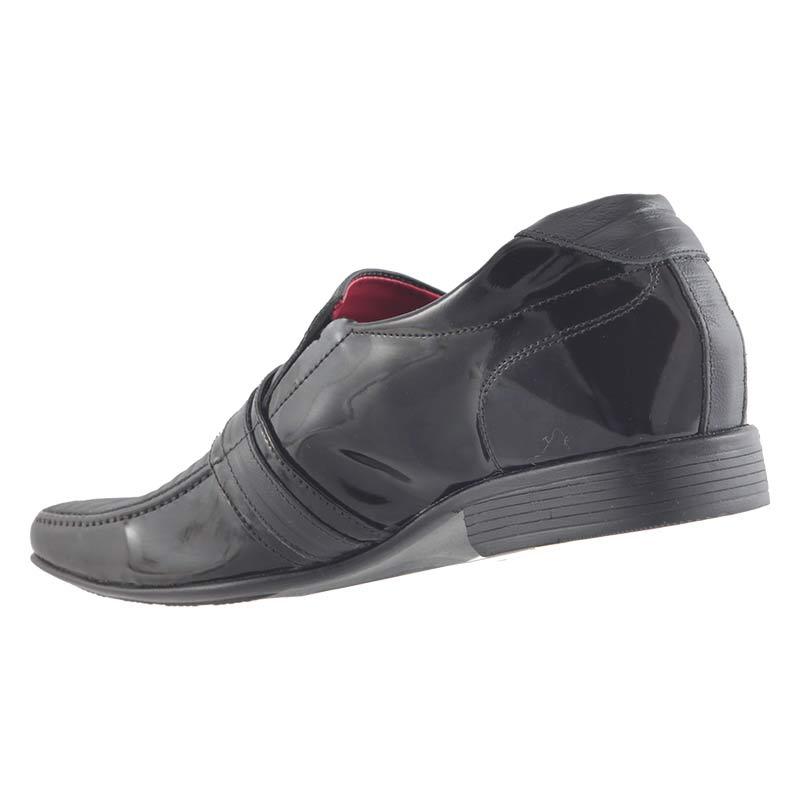 Sapato Social em Couro Legítimo Masculino D`mazons VIE12066  - Ian Calçados