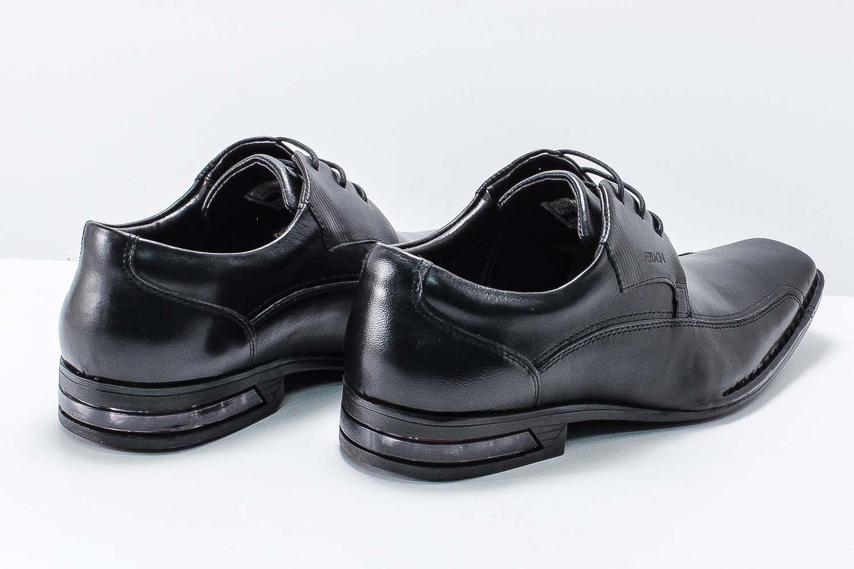 Sapato Social Ferracini Florença Cadarço Couro Amortecedor 4626-1288  - Ian Calçados