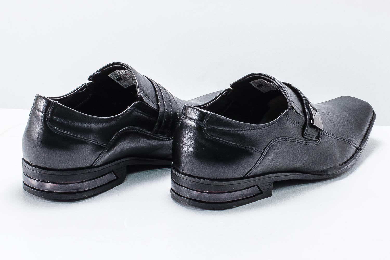 Sapato Social Ferracini Florença Couro Legítimo Fivela Amortecedor 4625-1288A  - Ian Calçados