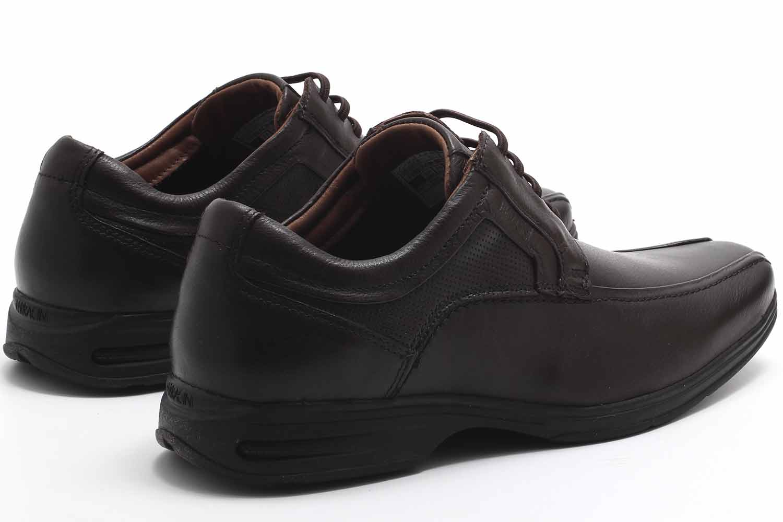 Sapato Social Ferracini React Couro Masculino 3448-562  - Ian Calçados