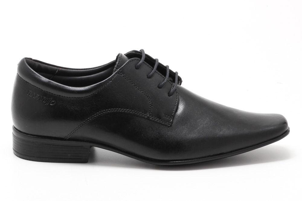 Sapato Social Rafarillo Couro Cadarço 6615  - Ian Calçados