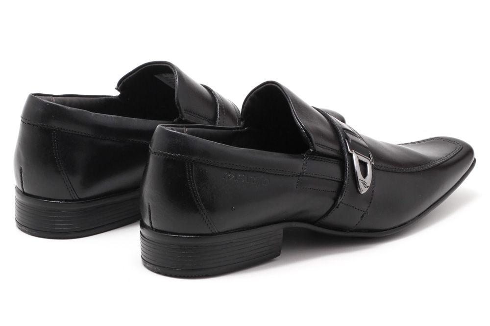 Sapato Social Rafarillo Couro Fivela Masculino 6606