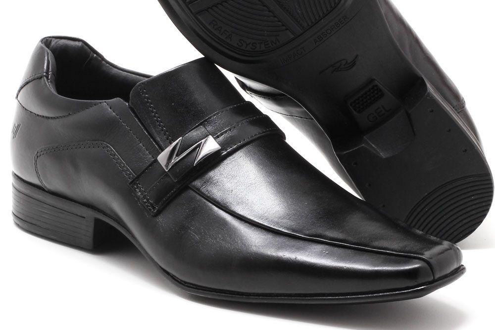 Sapato Social Rafarillo Couro Fivela Masculino 6621  - Ian Calçados