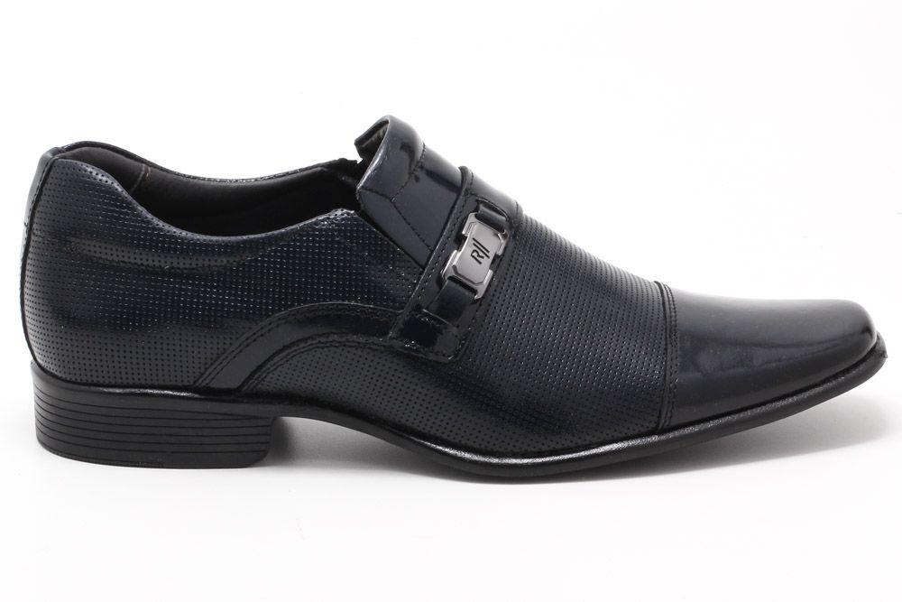 Sapato Social Rafarillo Couro Verniz Masculino 34002