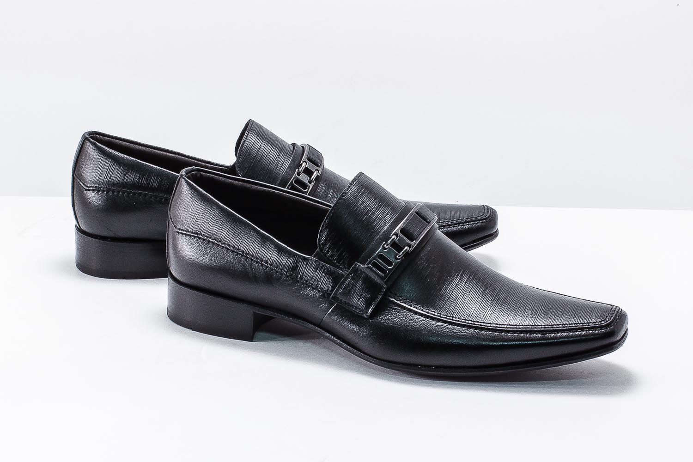 Sapato Social Scatamacchia Fivela Couro Comfort 012-852  - Ian Calçados