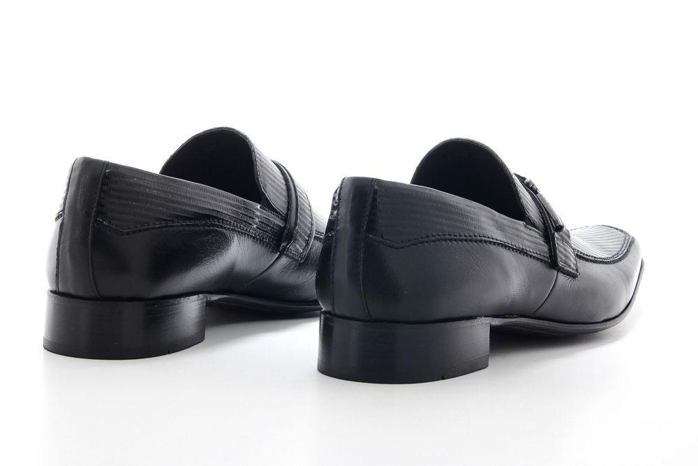 Sapato Social Scatamacchia Masculino Fivela Couro 012-847