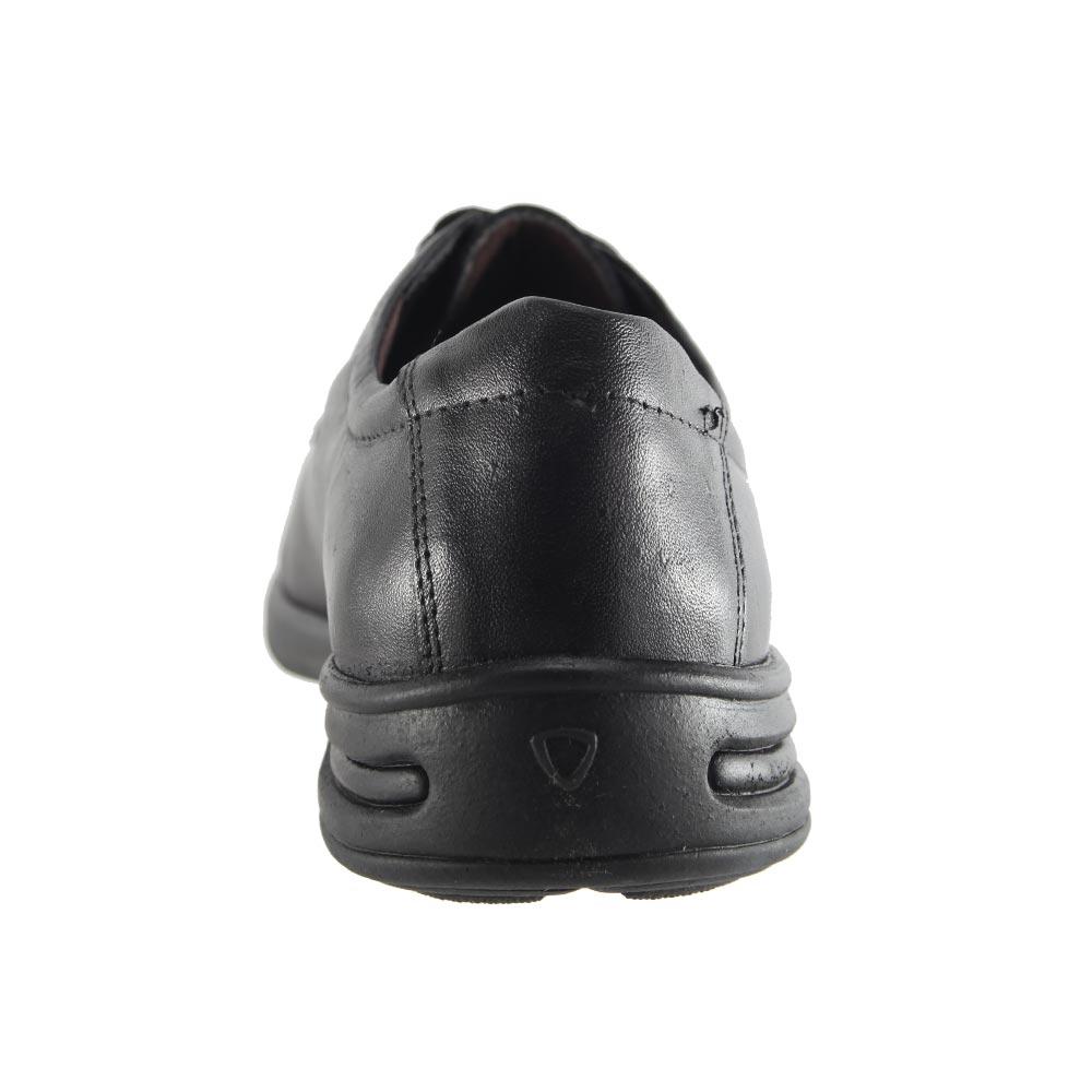 Sapato Social Trilhos Cadarço Em Couro Legítimo Conforto Masculino 0073M  - Ian Calçados