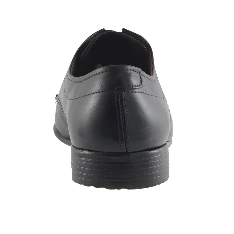 Sapato Social Trilhos Em Couro Legítimo Cadarço Masculino 6864M  - Ian Calçados