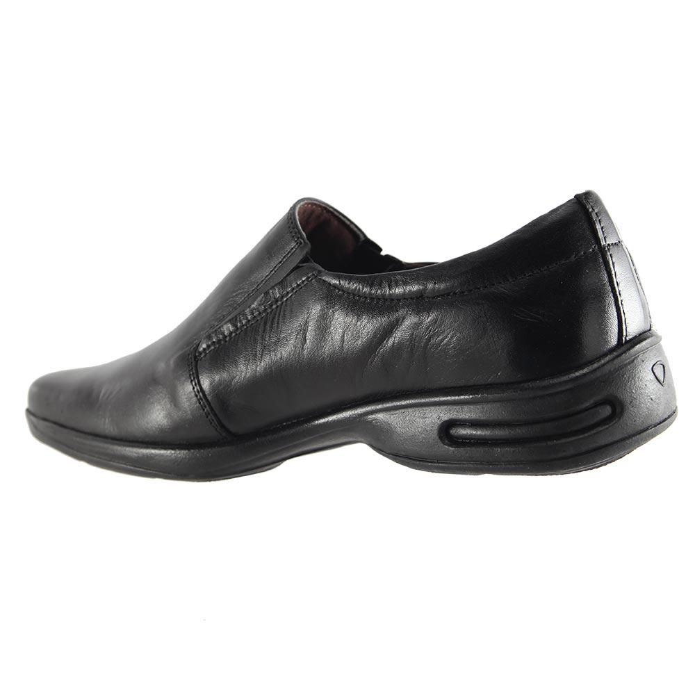 Sapato Social Trilhos Em Couro Legítimo Conforto Masculino 0074M  - Ian Calçados