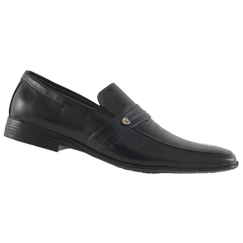 Sapato Social Trilhos Em Couro Legítimo Masculino 6863M  - Ian Calçados