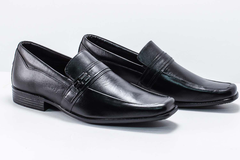 Sapato Social Zanuetto Couro Masculino Fivela 3015  - Ian Calçados