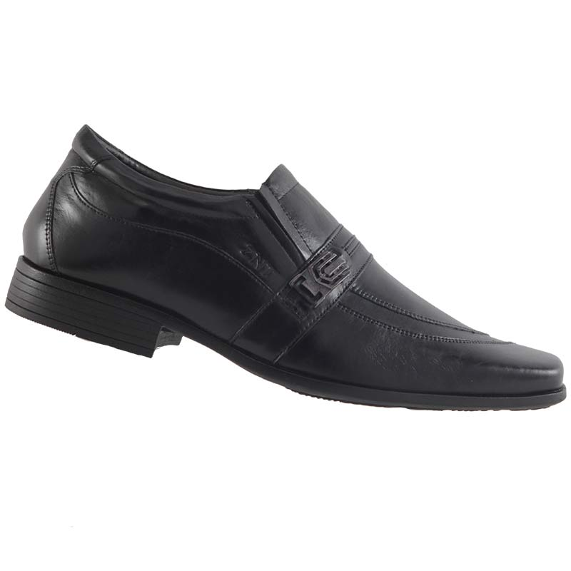 Sapato Social Zanuetto Em Couro Legítimo Masculino 2060  - Ian Calçados