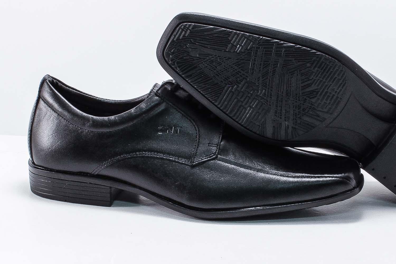 Sapato Social Zanuetto Masculino Couro Cadarço 3010  - Ian Calçados