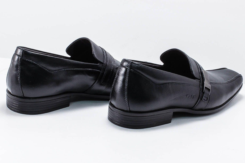 Sapato Social Zanuetto Masculino Couro Fivela 3020  - Ian Calçados