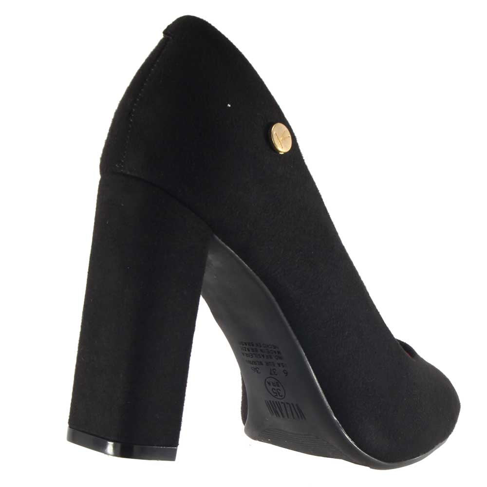 Sapato Vizzano Scarpin Camurça Feminino 1260100  - Ian Calçados