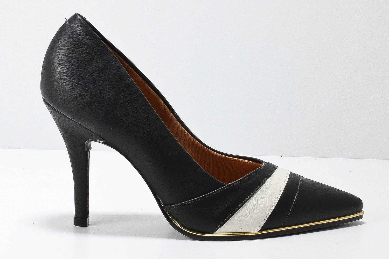 Sapato Vizzano Scarpin Feminino Pelica 1267110  - Ian Calçados
