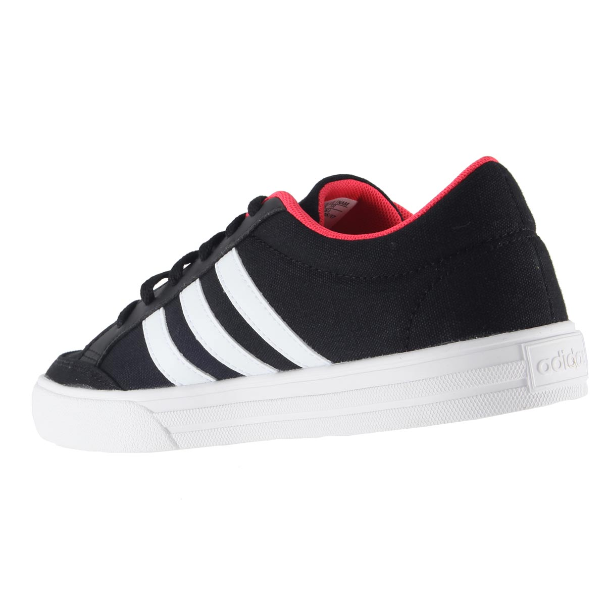 Tênis Adidas VS Set Unissex Casual Retrô Lona BB9651