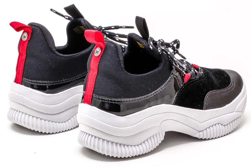 Tênis Biker Sneaker Plataforma Conforto Feminino C3820