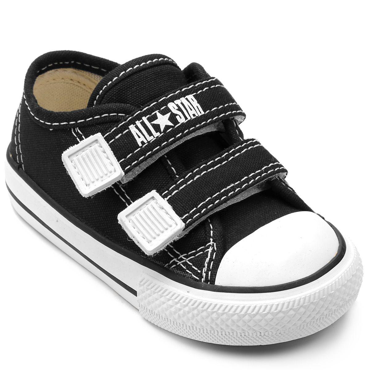 Tênis Infantil Converse All Star CT Border 2 Velcros Baby CK0508