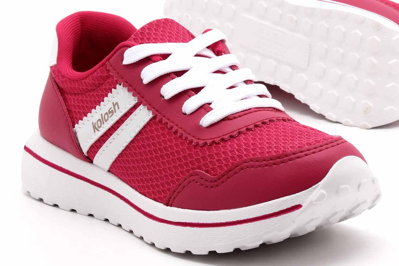 Tênis Kolosh Jogging Malha Tratorado Feminino C2803