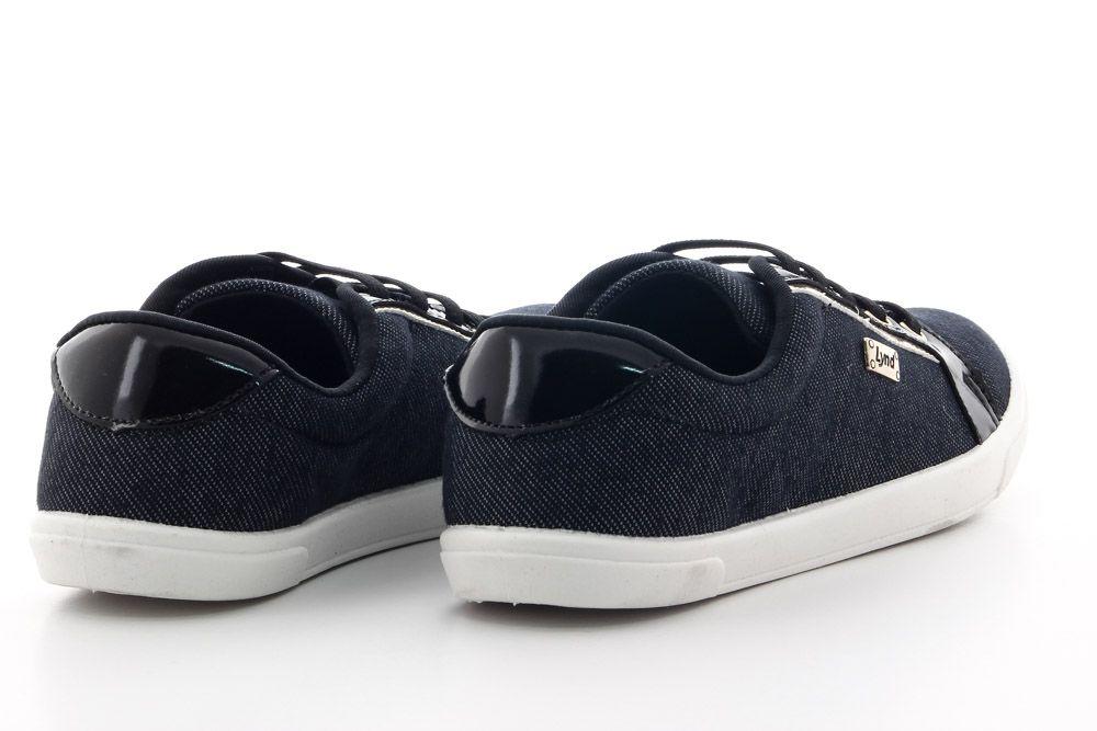 Tênis Lynd Feminino Casual Elástico Jeans 9166  - Ian Calçados