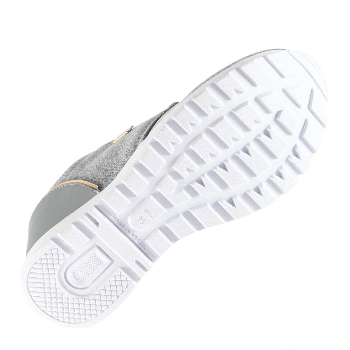 Tênis Lynd Feminino Walk Mesh Jogging Moletom Leve 9116  - Ian Calçados