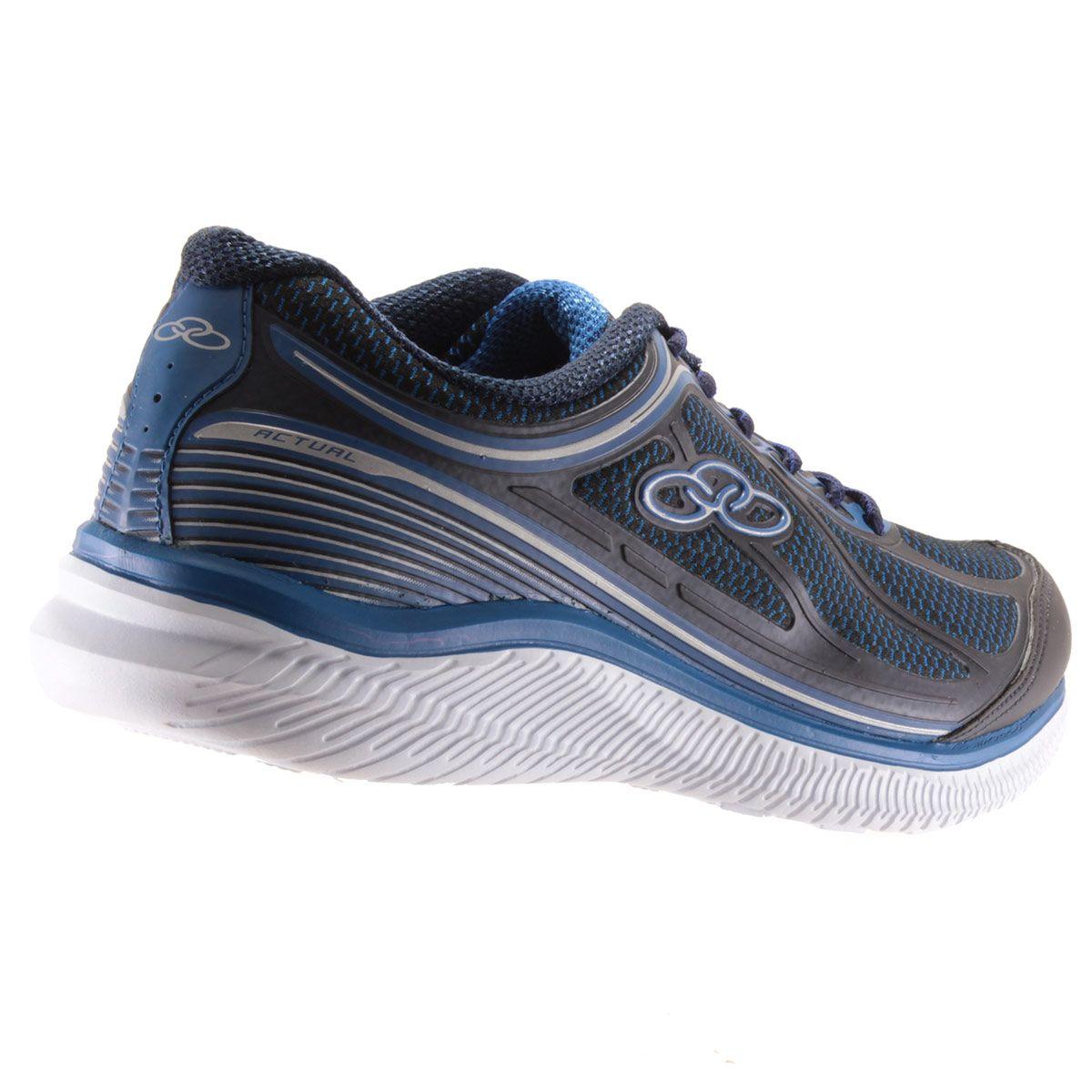 Tênis Olympikus Actual Masculino Caminhada Corrida 422   - Ian Calçados