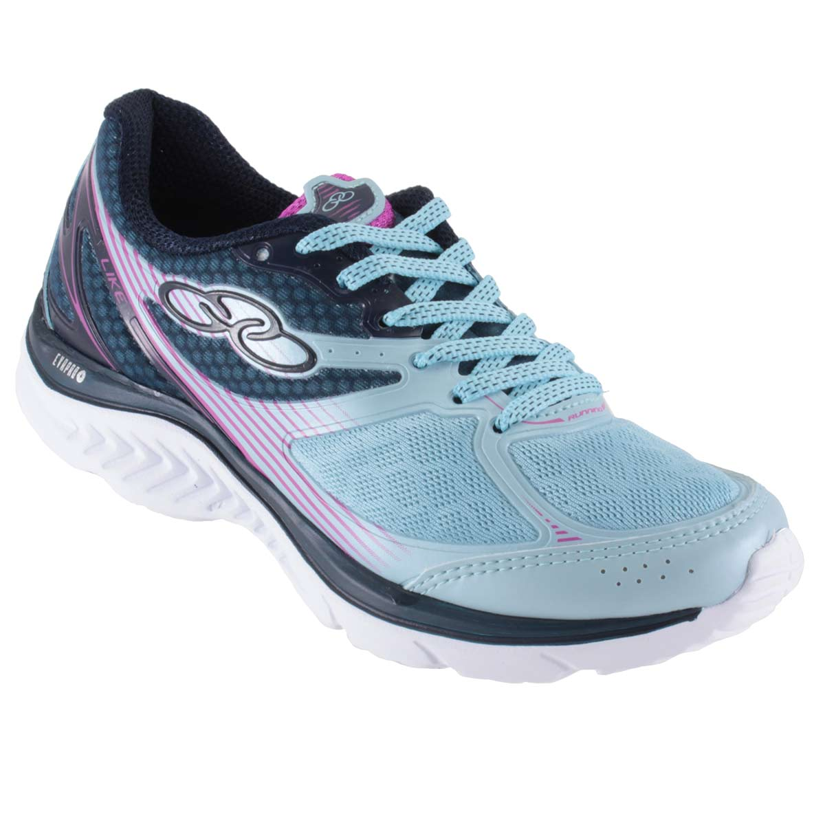 Tênis Olympikus Like Feminino Caminhada Corrida Running 383  - Ian Calçados