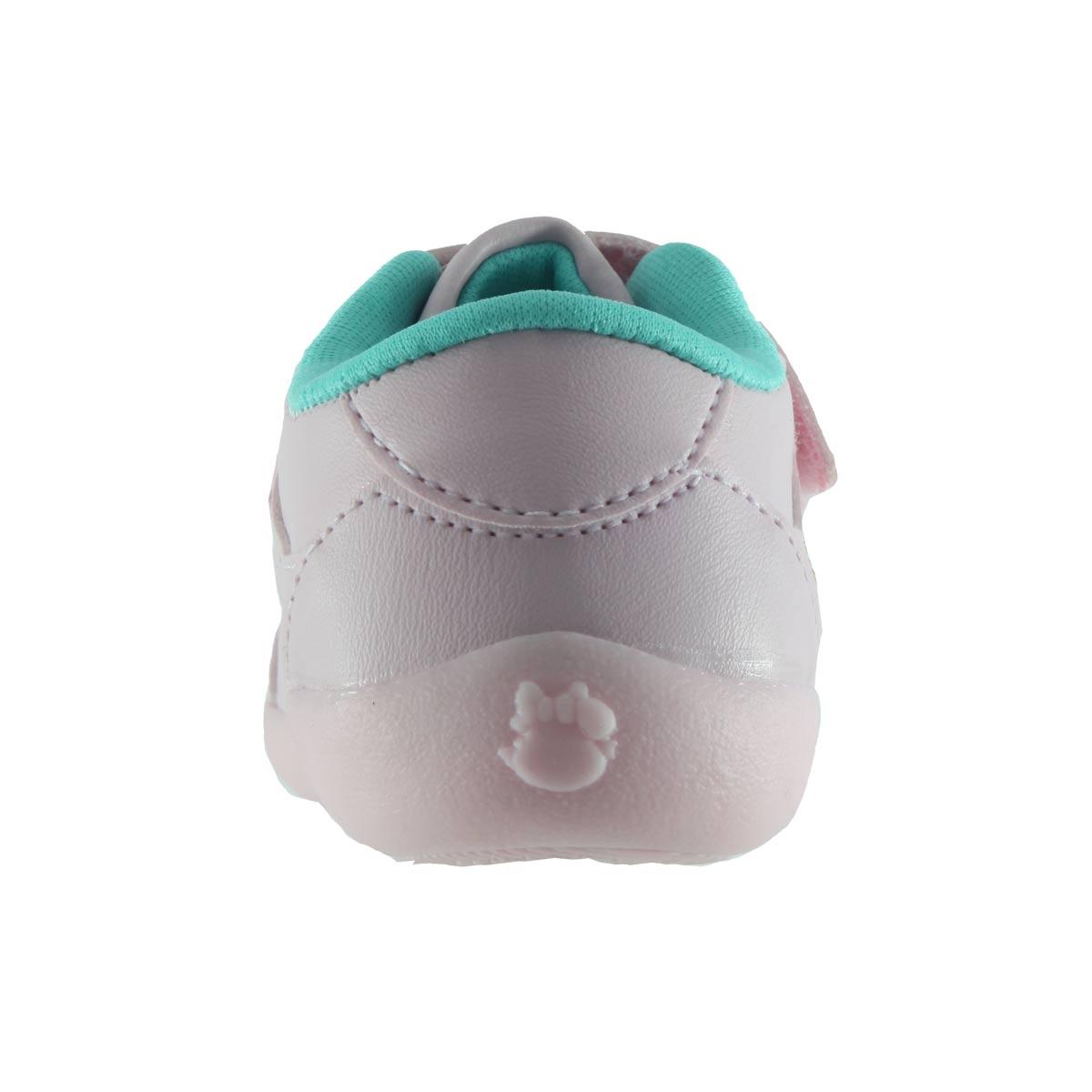 Tênis Pé Com Pé Menina Casual Guty Infantil Velcro 28081  - Ian Calçados