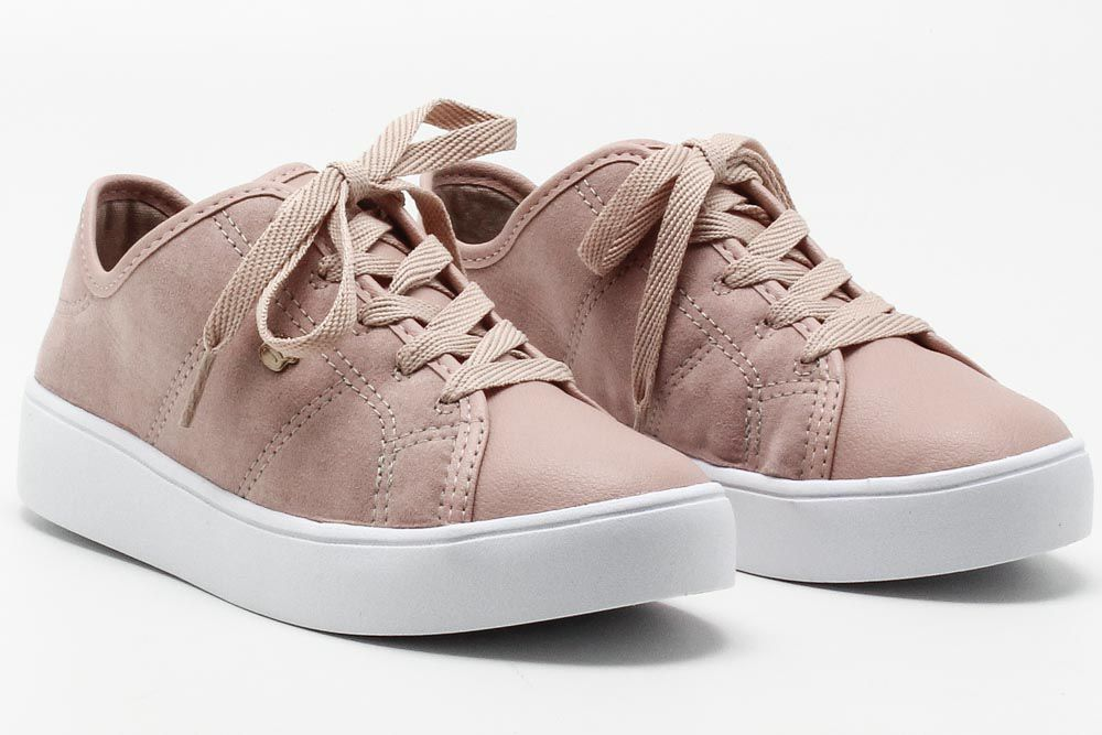 Tênis Pink Cats Casual Infantil Menina V0444  - Ian Calçados