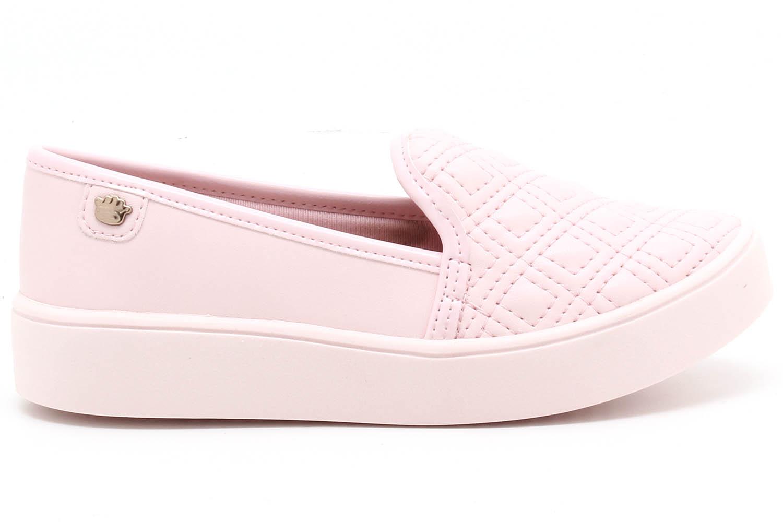 Tênis Pink Cats Slip On Matelassê Infantil V1491