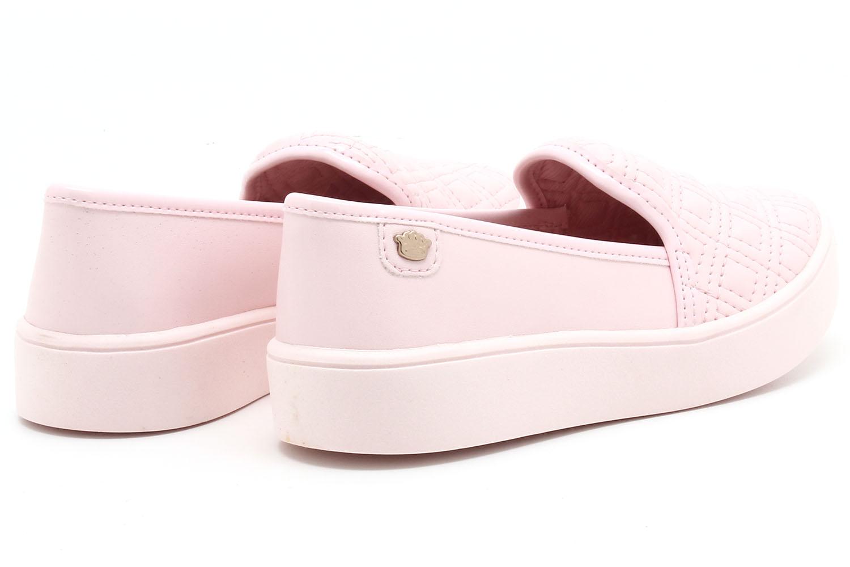 Tênis Pink Cats Slip On Matelassê Infantil V1491  - Ian Calçados