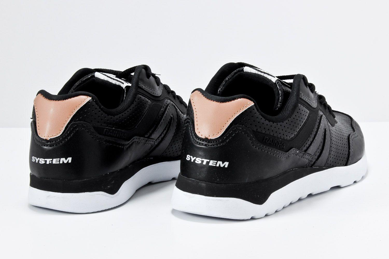 Tênis Rainha System Classic 5000 Masculino Caminhada 4201202  - Ian Calçados