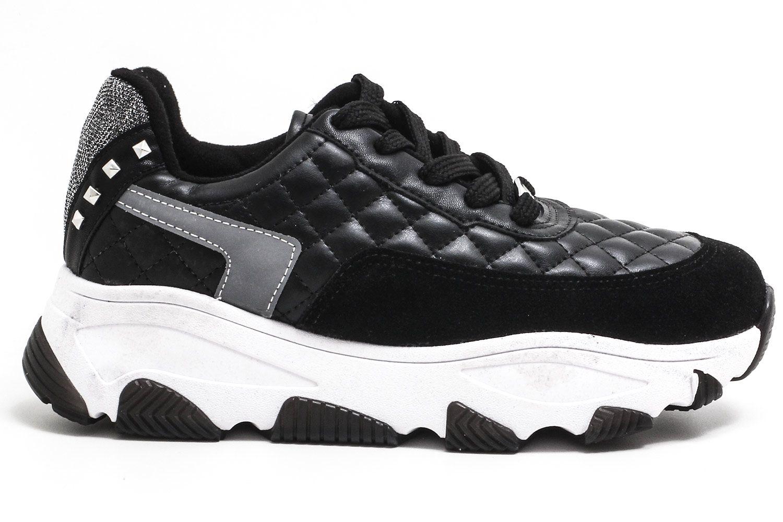 Tênis Vizzano Chunky Dad Sneaker Matelasse Feminino 1343102  - Ian Calçados