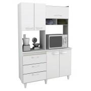 Armário de Cozinha Galax Branco - Móveis Primus