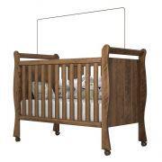 Berço Americano Baby Castanho - Imaza Móveis
