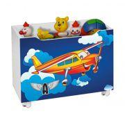 Caixa para Brinquedo Avião - J&A Móveis
