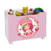 Caixa para Brinquedo Lara Moranguinho - J&A Móveis