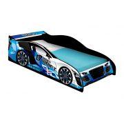 Cama Carro Drift Infantil Azul - J&A Móveis