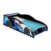 Cama Carro Drift Solteiro Azul - JeA Móveis