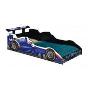 Cama Carro Fórmula 1 Infantil Azul - J&A Móveis