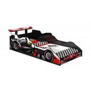 Cama Carro Fórmula 1 Solteiro Preto - J&A Móveis
