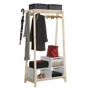 Guarda-Roupa Closet Modulado Milão com Nicho Branco - Tebarrot Móveis